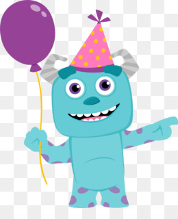 260x320 Monster Party Mike Wazowski Monsters, Inc. Clip Art