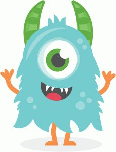 229x300 Monster Clip Art Cartoon Free Clipart Images 3 Hayley And Aidan
