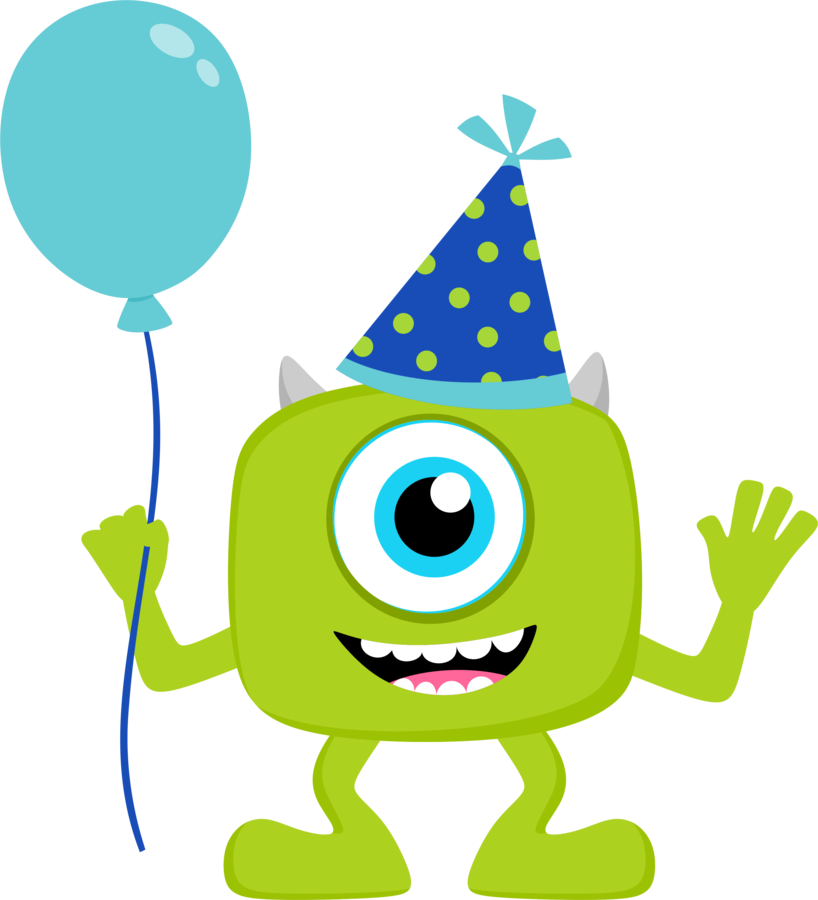 818x900 Clipart De Monster Party Isabel Monsters
