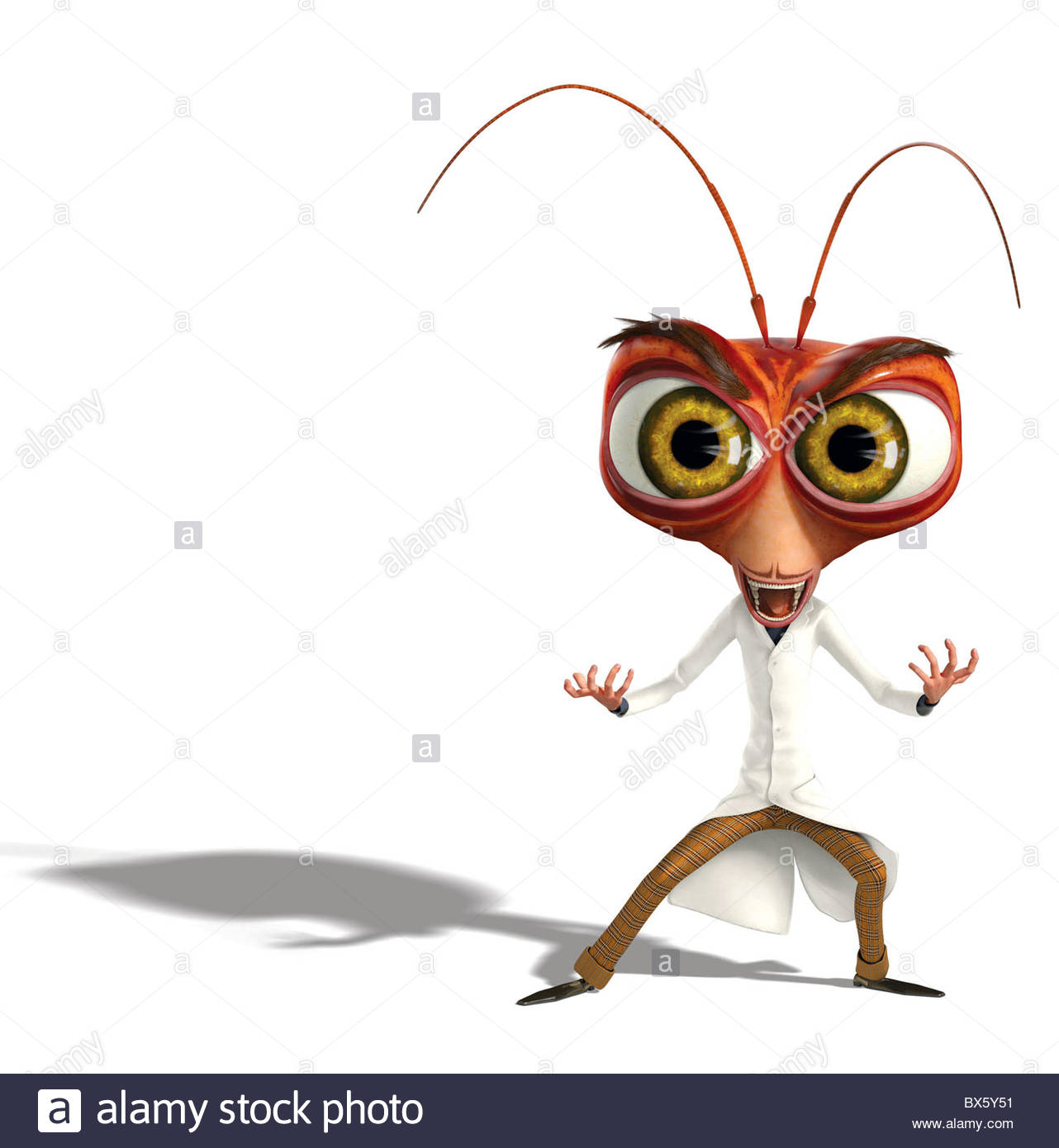 1282x1390 Dr. Cockroach Phd. Monsters Vs. Aliens (2009 Stock Photo 33322493