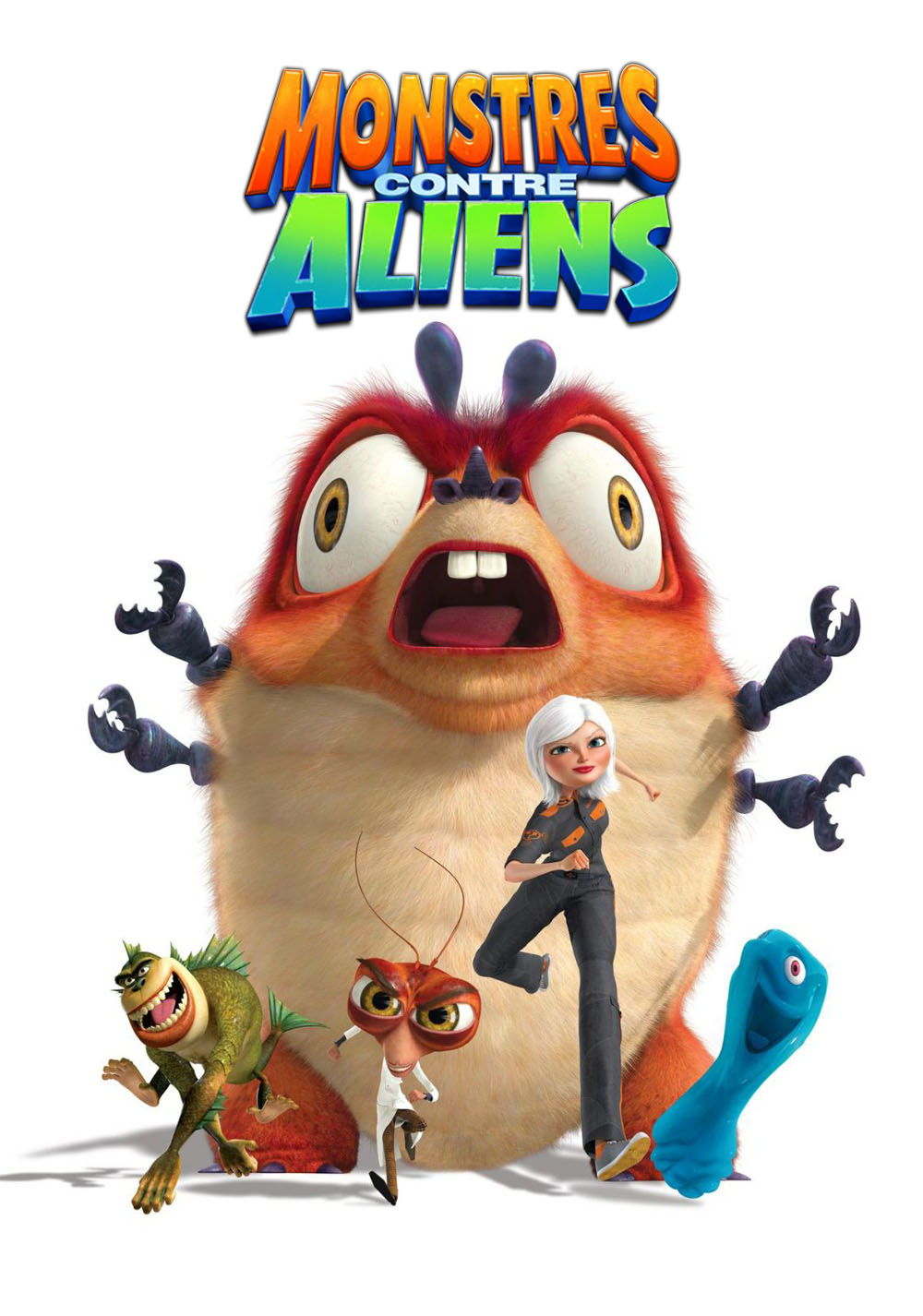 1000x1426 Monsters Vs. Aliens Movie Fanart Fanart.tv
