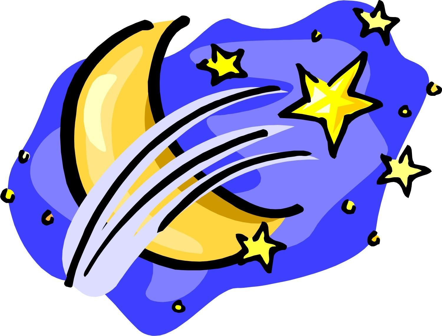 1500x1143 Moon And Stars Clipart
