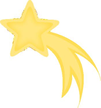 350x373 Shooting Star Clip Art Falling Star Free Clipart The Moon