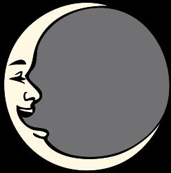 248x250 Free Moon Clip Art Isn'T Pie In The Sky
