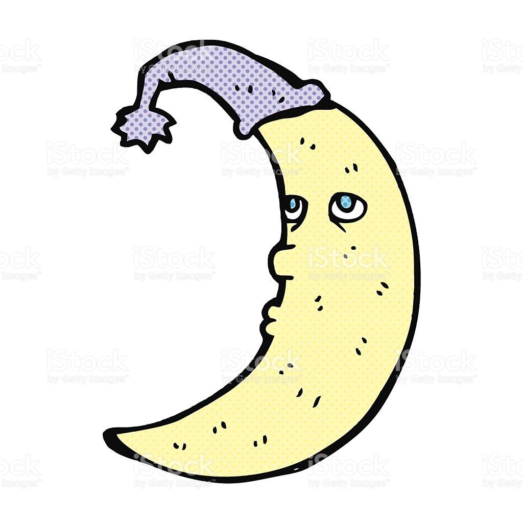 1024x1024 Moon Clipart Comic