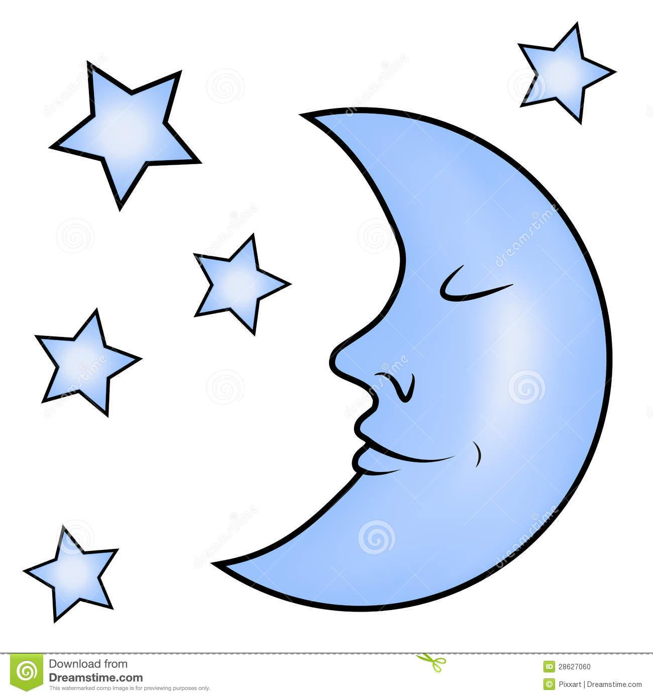 1300x1390 Blue Moon Clipart
