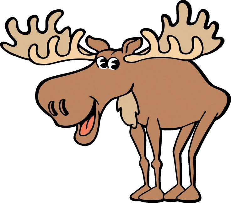 736x649 Moose Images Cartoon
