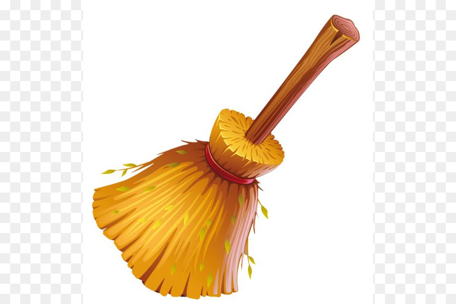 900x600 Witch's Broom Mop Clip Art