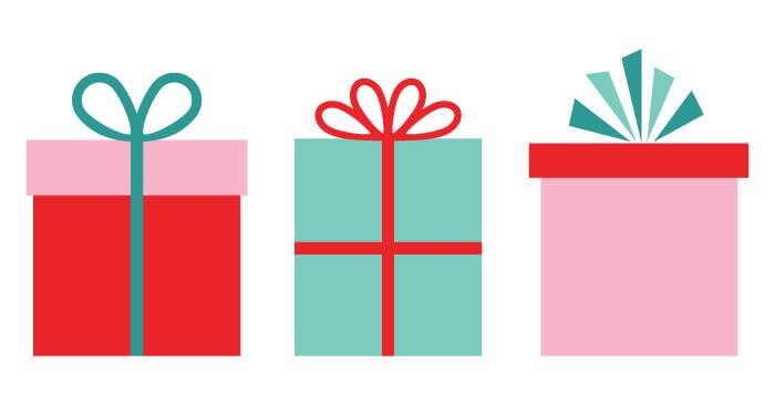 700x366 Christmas Gifts Clip Art