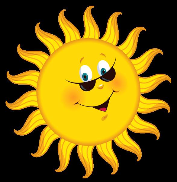 586x600 Smiling Sun Clipart Good Morning No Words Transparent Cartoon Sun