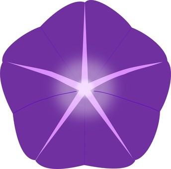 344x340 Morning Glory Clipart Lavender