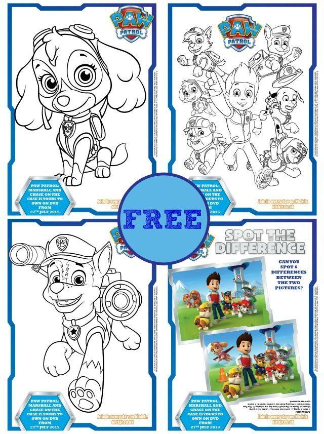 640x857 Free Paw Patrol Coloring Books Amp Activity Sheets Kiddycharts