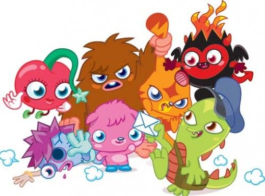 520x386 Fun With Free Moshi Monsters Colouring Pages Monsters, General