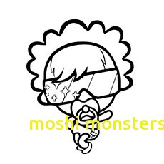 230x230 Moshi Monsters Coloring Pages