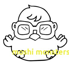 230x230 Moshi Monsters Coloring Pages With Moshi Monsters Colouring Pages
