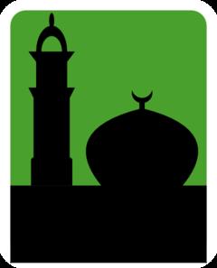 240x297 Mosque Clip Art