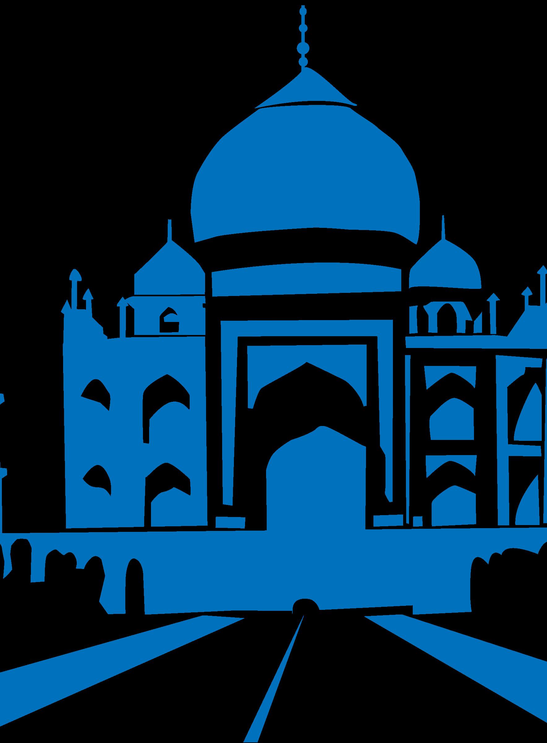 1768x2400 Taj Mahal Clipart