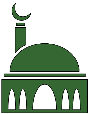 345x439 Clip Art Of Mosque Of Mosque Clipart