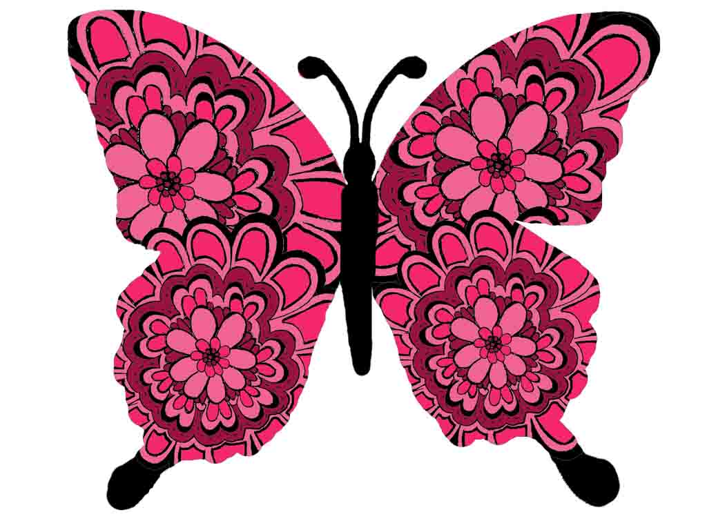 1024x768 Moth Clipart Animated 3724069