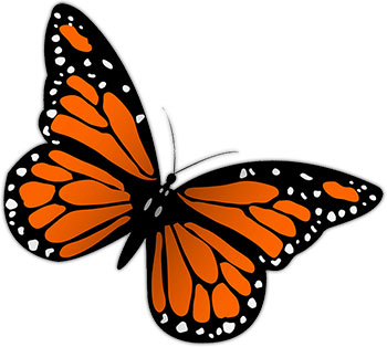 350x314 Top 81 Butterfly Clipart