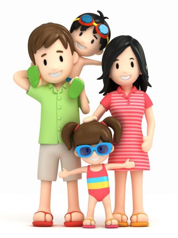 585x780 Family Of 4 Clipart 146 Best Clip Art Images On Alihkan.us