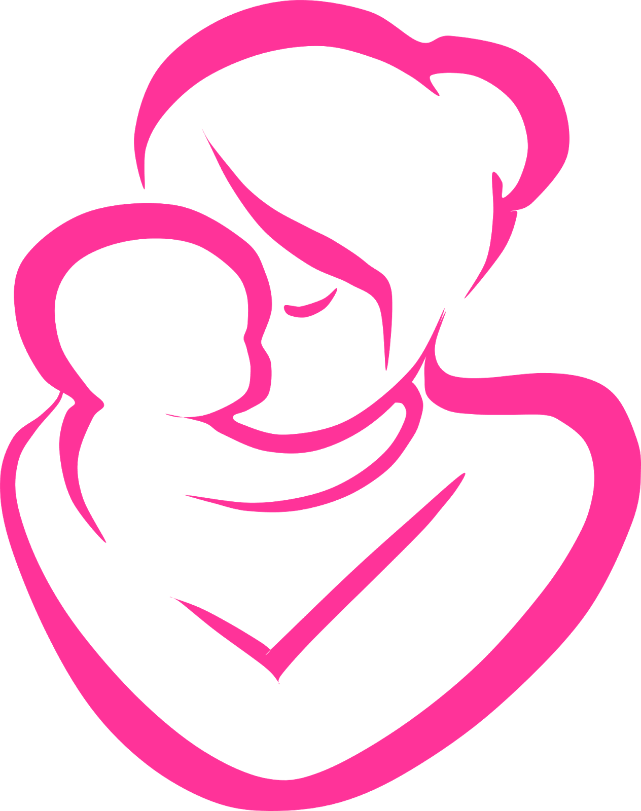 1264x1600 Photos Mother And Baby Clip Art,