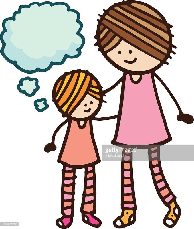 678x800 Mom And Child Clipart
