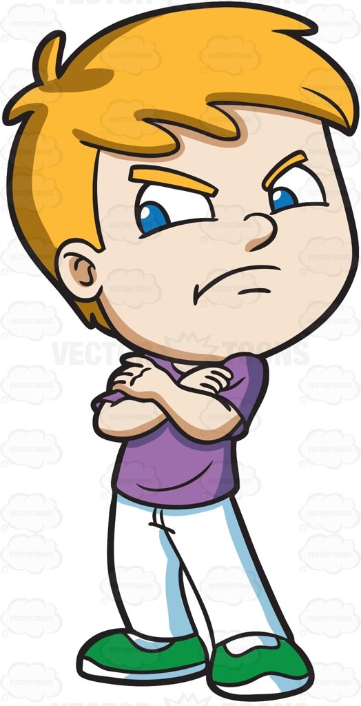 524x1024 Angry Child Clipart