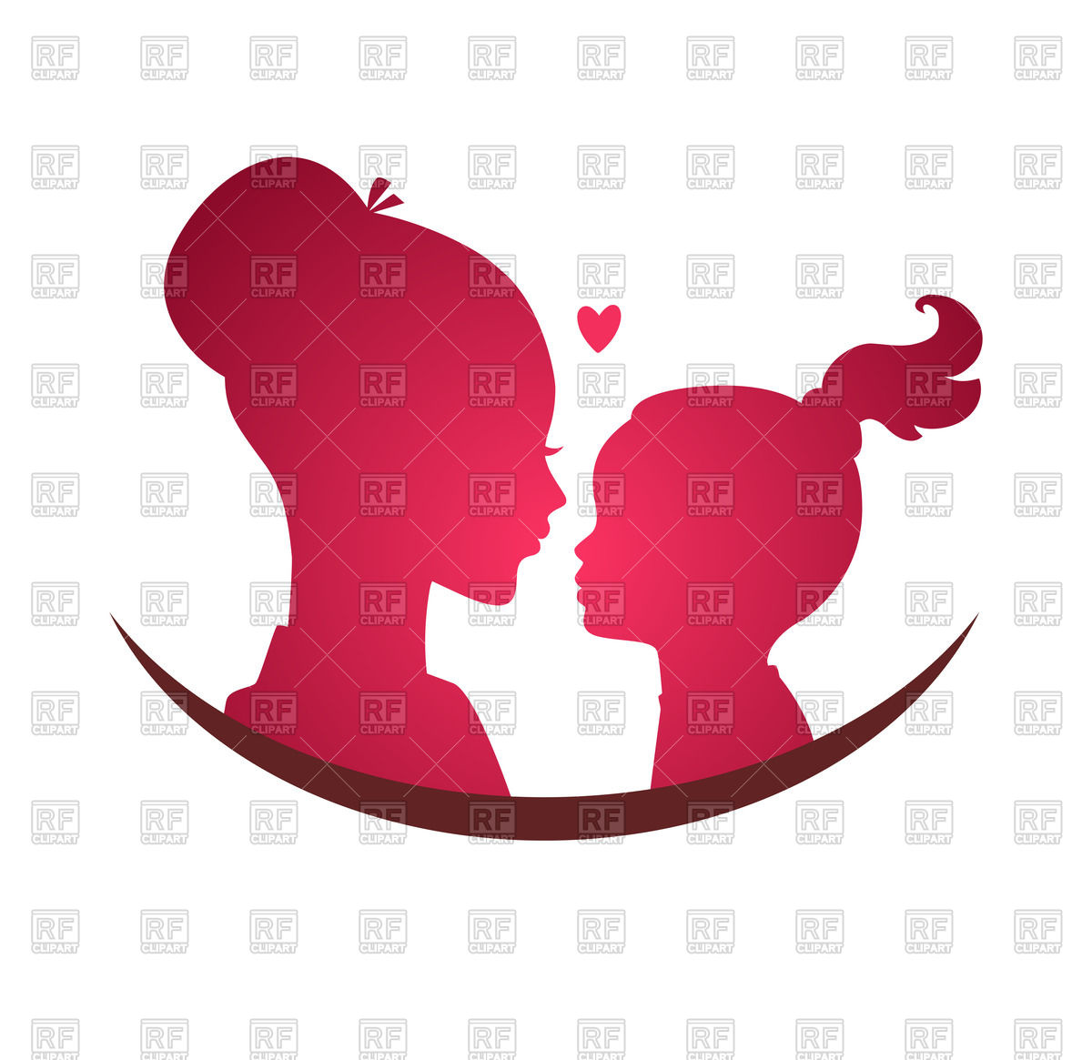 1200x1165 Mom And Daughter Love