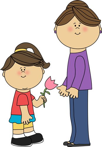 Mother And Son Clipart