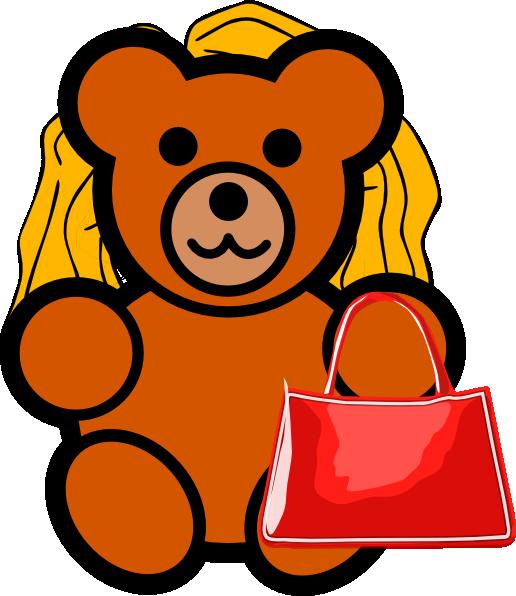 516x596 Mother Bear Clip Art