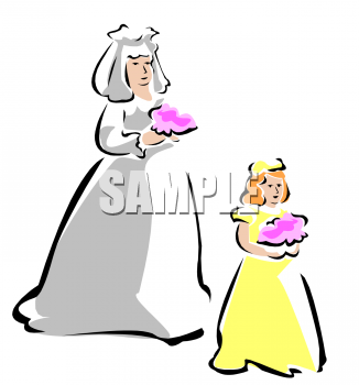 326x350 Mother Daughter Banquet Clipart
