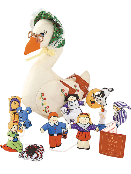 500x667 Mother Goose Doll