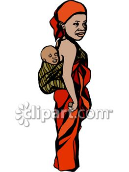 263x350 Mother And Baby Clipart Mom Baby