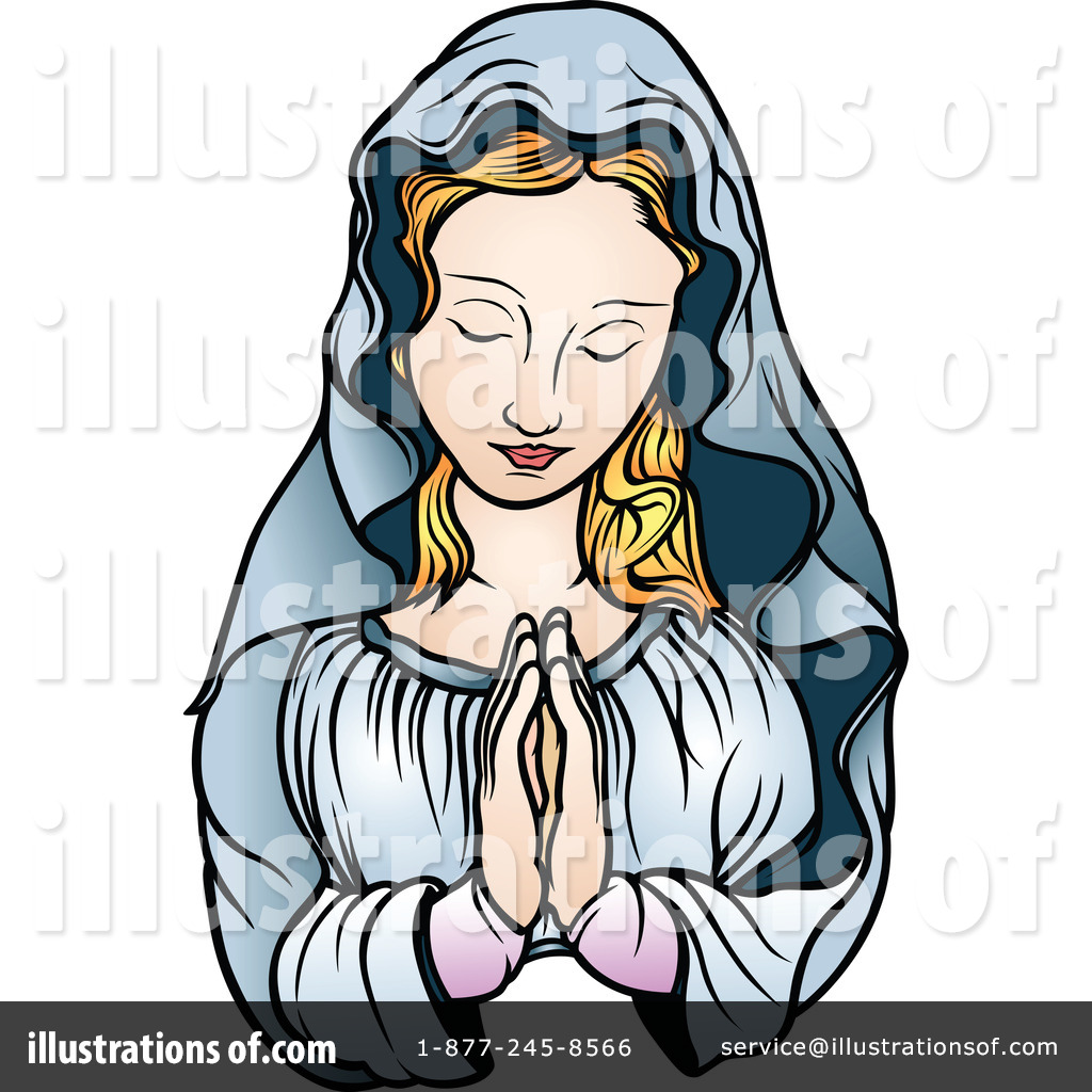 1024x1024 Virgin Mary Clipart