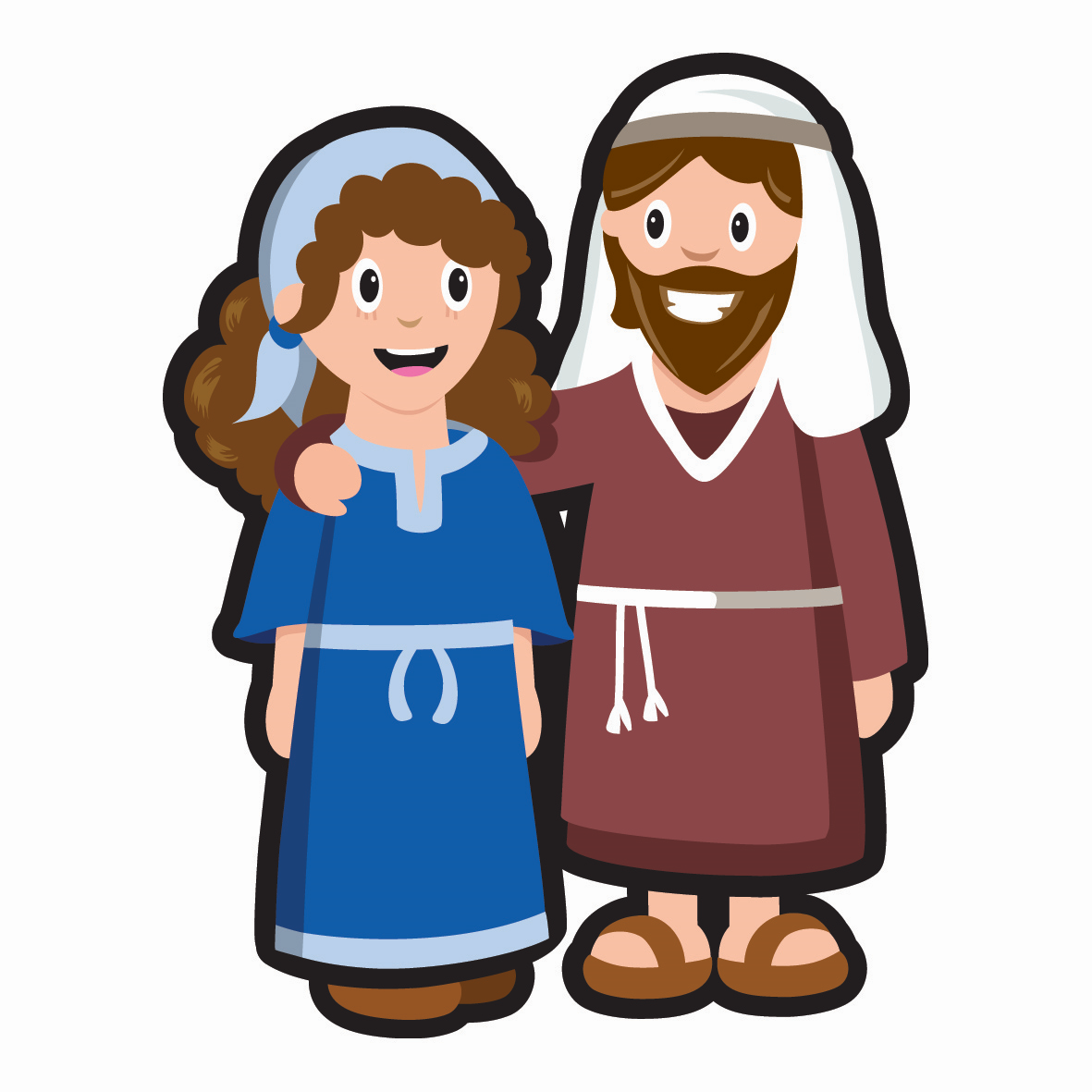 1181x1181 Collection Of Joseph And Mary Clipart High Quality, Free