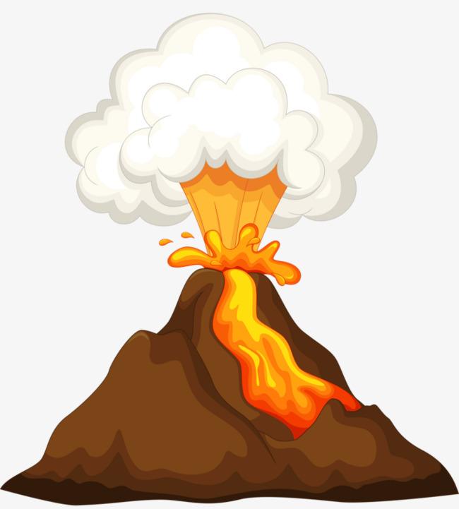 650x721 Volcano Clipart Free Volcanic Eruptions Break Out Volcanic Cartoon