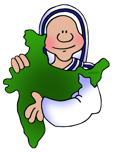 484x648 Mother Teresa Clip Art Mother Teresa And Clip Art