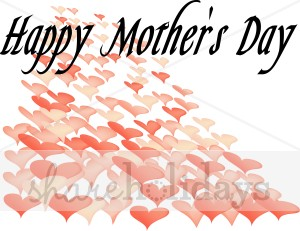 300x231 Hearts Happy Mother's Day Clipart Mother's Day Clipart