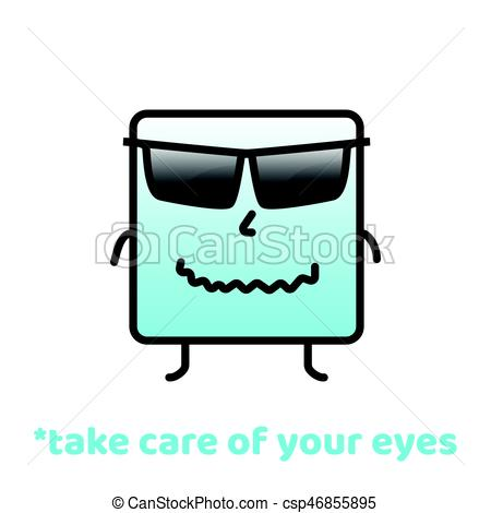 450x470 Take Care Of Your Eyes. Do Not Forget To Smile. Positive Eps
