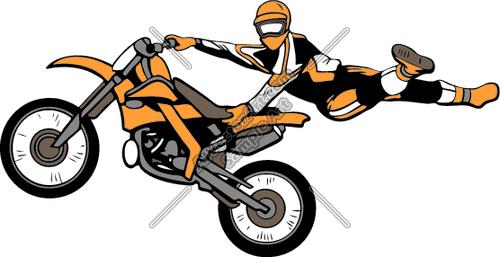 500x257 Motocrossjk4 Clipart And Vectorart Vehicles