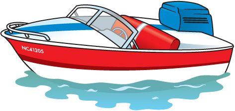 473x225 Fishing Boat Clipart Motor Boat