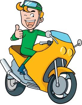 275x350 Clipart Motorcycle Rider Motorcycle Clip Art Motorbikeman