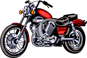 350x235 Free Motorcycle Clipart