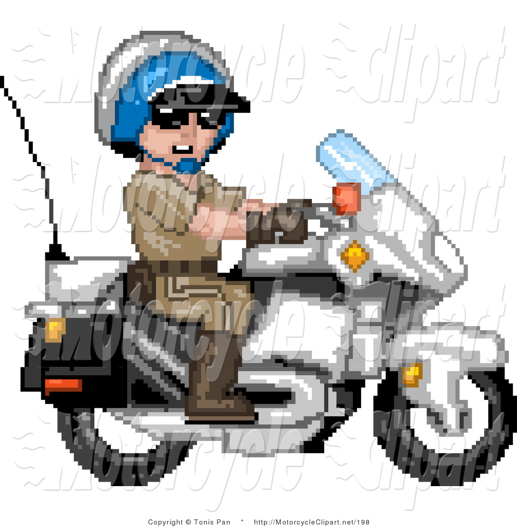 1024x1044 Police Motorcycle Clipart Police Bike1