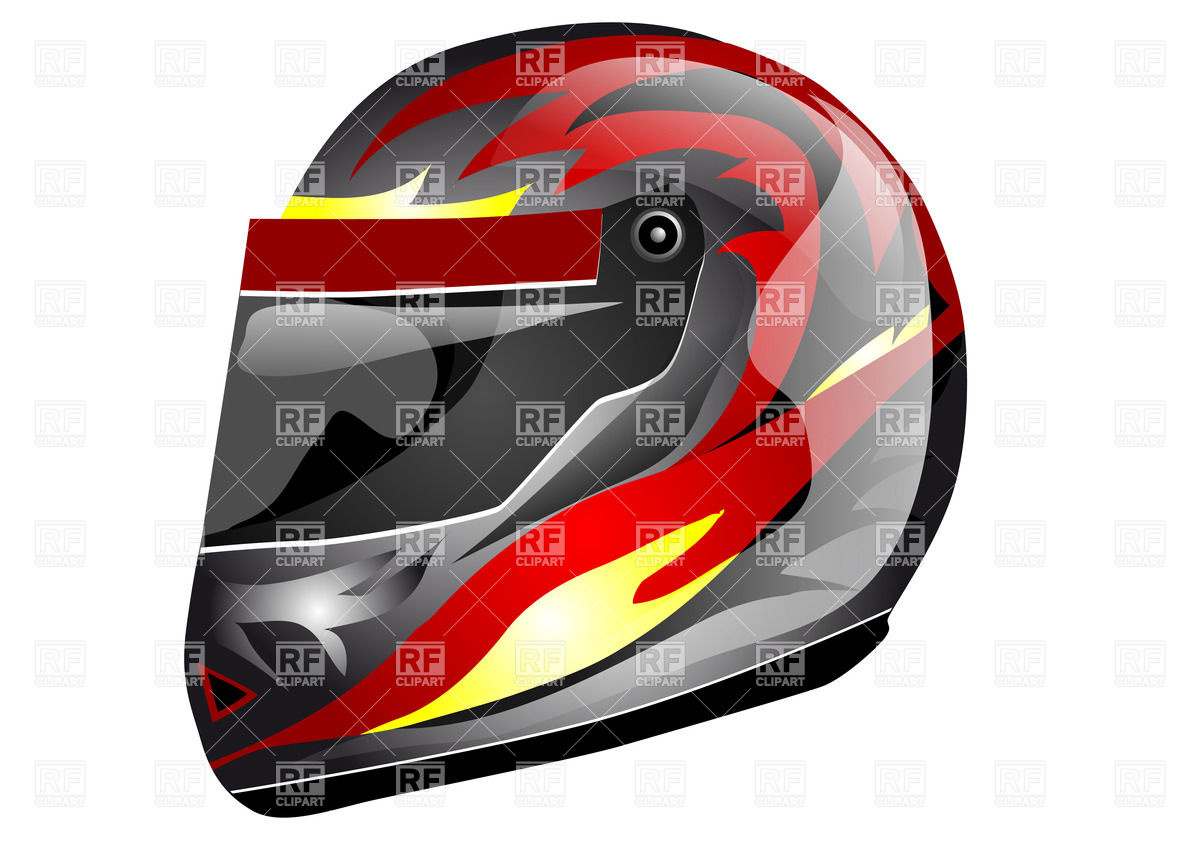 1200x849 Crash (Sport) Motorcycle Helmet With Face Guard Royalty Free