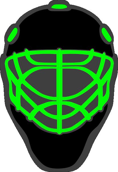 414x599 Hockey Helmet Clip Art