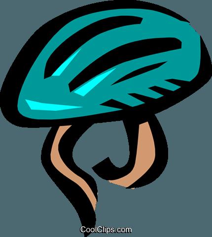 430x480 Bike Helmets Royalty Free Vector Clip Art Illustration Hous0507