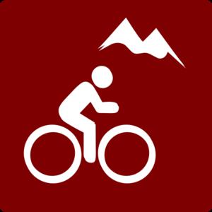 300x300 Hotel Icon Mountain Biking Clip Art Redwhite Clip Art