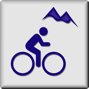 300x300 Hotel Icon Mountain Biking Clip Art